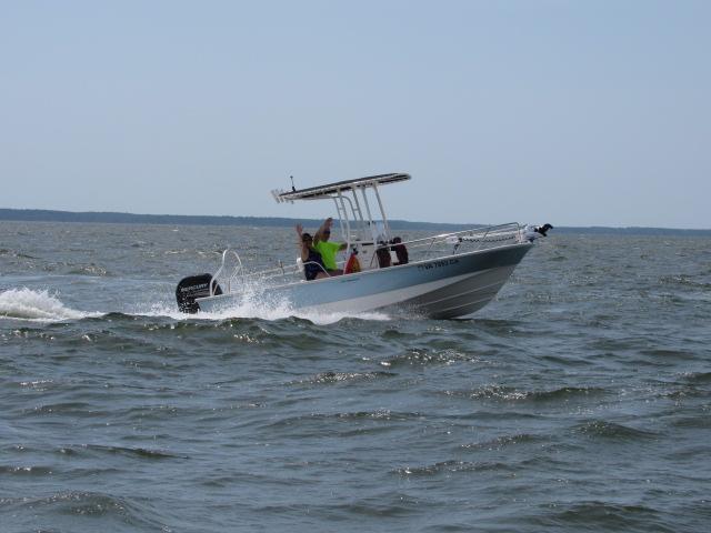 Boston Whaler 190 Montauk owned by Jim Rardon & Jean Couchman